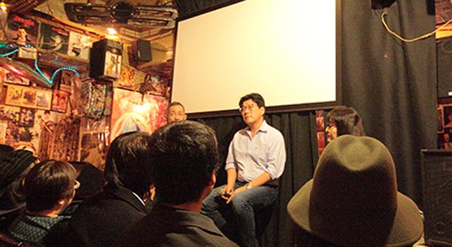 オトナの秘密会議:池ノ上ト~クを開催しました!